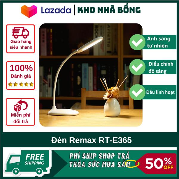 Đèn Led Cao Cấp Remax RT-E365 - Đèn Học Tập- Đèn Làm Việc Cao Cấp- Thiết Kế Đơn Giản Sang Trọng - Hàng Chính Hãng Bảo Hành 12 Tháng