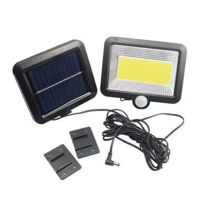 Đèn cảm biến hồng ngoại, đèn năng lượng mặt trời, đèn siêu sáng kèm 5m dây tiện dụng F56
