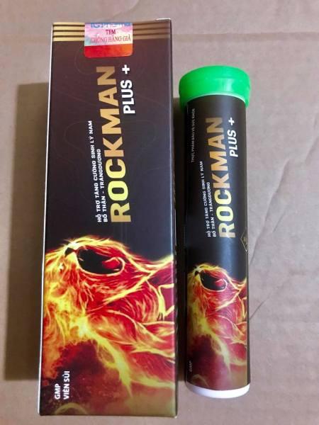 [ Siêu Bão ] Sủi Rockman Plus Tăng Cường Sinh Lý Nam Giới, Mạnh Hơn, Bền Bỉ Hơn, Mang Lại Phong Độ bản lĩnh đàn ông, dp tg pharma