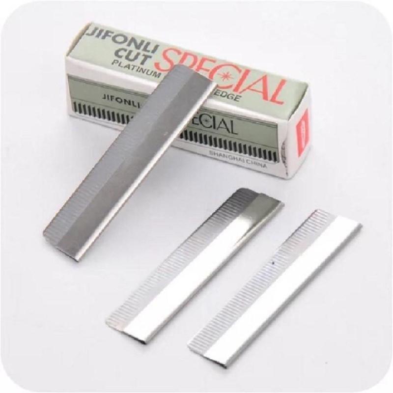 1 hộp Dao cạo lông mày - lưỡi dao gọt chì xé