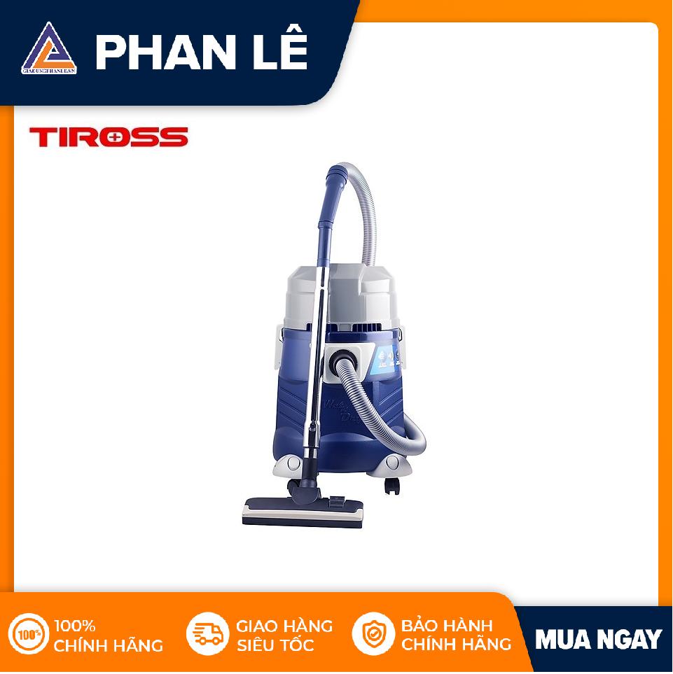 Máy hút bụi công nghiệp Tiross TS9301 (32L) (Xanh dương)