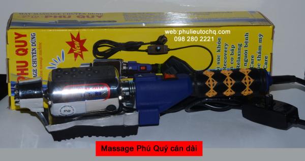[HCM]Máy massage Phú Quý cán dài dùng trị liệu massage toàn thân giúp giảm nhức mỏi nhập khẩu