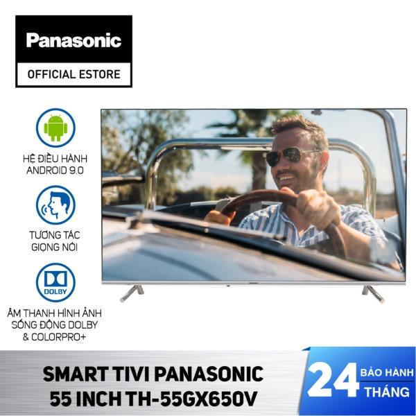 Bảng giá [CHỈ GIAO TẠI HCM] - [Sưu tầm voucher giảm thêm 2 triệu] Smart Tivi Panasonic TH-55GX650V - Android 9.0 - LED 4K - 55 Inch - Hàng Chính Hãng
