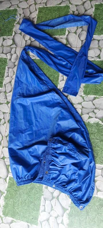 [SIÊU RẺ]  Áo vệ sinh máy lạnh - vệ sinh máy lạnh tại nhà - giá tận gốc - không dây sỏ - xanh bích