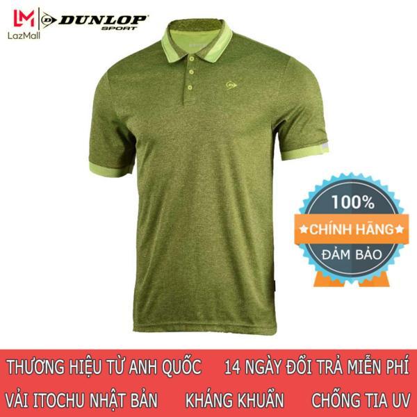 DUNLOP - Áo Tennis Nam Dunlop - DATES8055-1C Thương hiệu từ Anh Quốc Đổi trả miễn phí