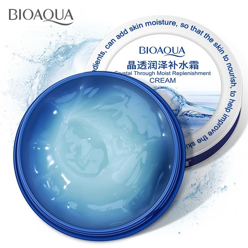 Kem dưỡng cấp ẩm chuyên sâu cho da Bioaqua Crystal Through Moist Replenishment 38gr