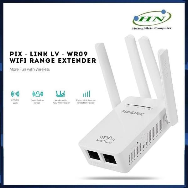Bảng giá Kích Sóng Wifi Pix-Link LV-WR09 (4 Anten) Phong Vũ