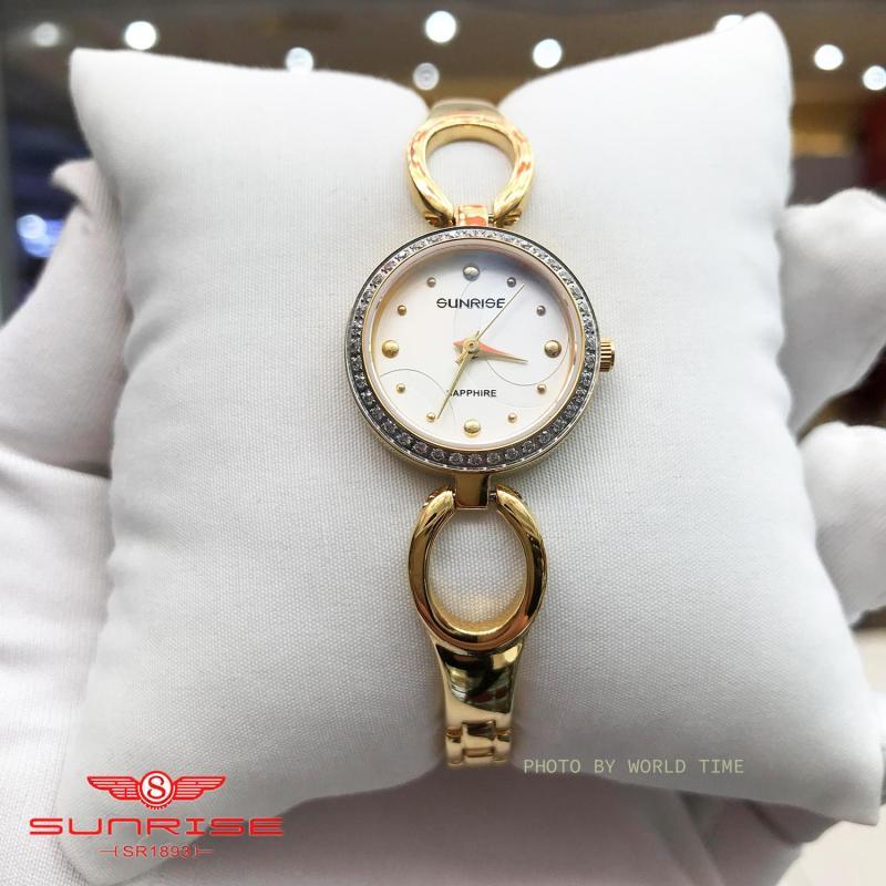Nơi bán Đồng hồ Nữ Sunrise SL675SXA  - Full Box , Thẻ BH hãng - Kính Sapphire chống xước, chống nước