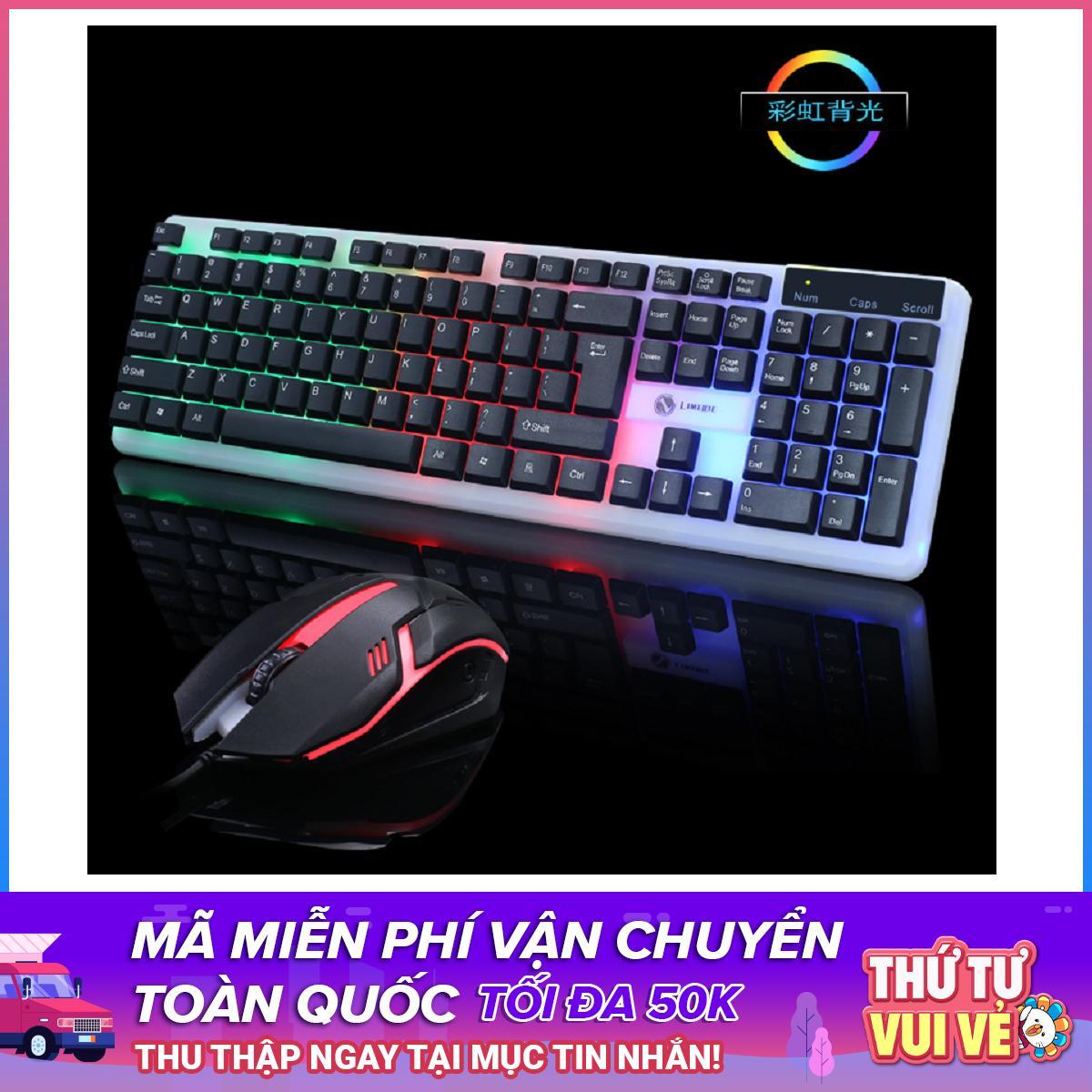 Bộ bàn phím và chuột LIMEIDE T11 chuyên Game Led 7 màu