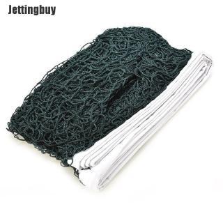 Jettingbuy Lưới Cầu Lông Bện Tiêu Chuẩn Tập Luyện Thể Thao Chuyên Nghiệp Viền Trắng 6M X 0.75M thumbnail