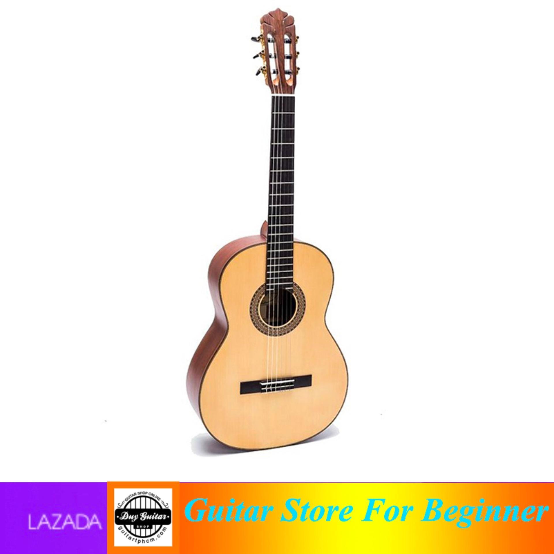 Đàn Guitar Classic guitar Việt Nam DC350 (gỗ) - Shop Duy Guitar
