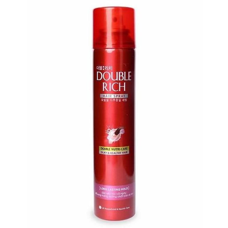 Keo giữ nếp tóc Double Rich 170ml giá rẻ