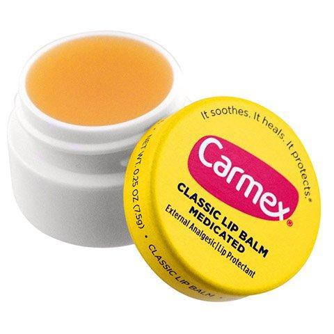 Hũ Dưỡng Trị Khô Nứt Môi CARMEX Medicated nhập khẩu