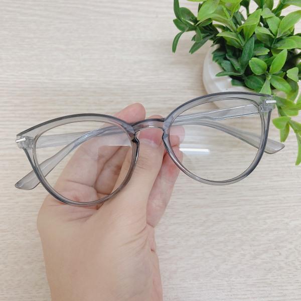Giá bán Gọng kính mắt mèo thời trang Hàn Quốc 3 màu - ảnh thật 100% - gọng cận sành điệu, mắt kính chống ánh sáng xanh