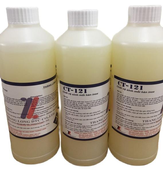 Tẩy Mối Hàn Inox, vệ sinh inox hết ố vàng han gỉ CT121-1 Lit