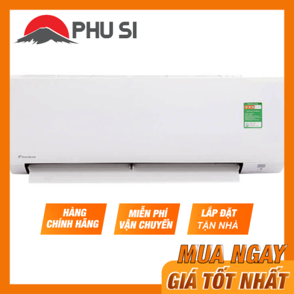 [Trả góp 0%]Máy lạnh Daikin Inverter 1.5 HP FTKA35UAVMV