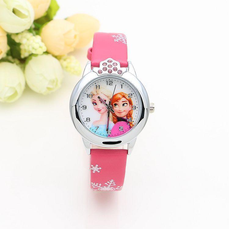 Nơi bán Đồng hồ trẻ em-Đông hồ Elsa cho bé