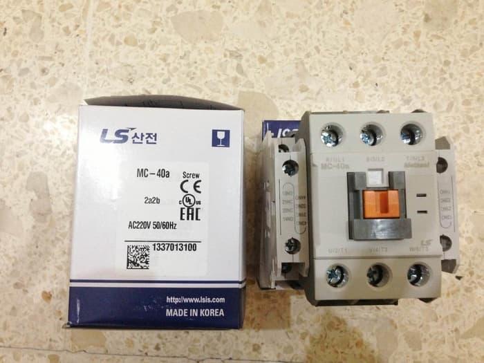 Khởi động từ Contactor LS MC-40a 40A 220v