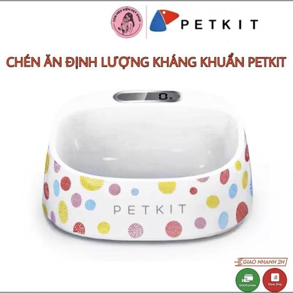 Chén ăn Petkit BioCleanAct Bowl - Cân điện tử, nghiêng 15 độ, kháng khuẩn
