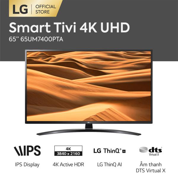 Bảng giá [FREESHIP 500K TOÀN QUỐC] Smart Tivi LG UHD 65 inch 65UM7400PTA (Đen) - Hãng phân phối chính thức