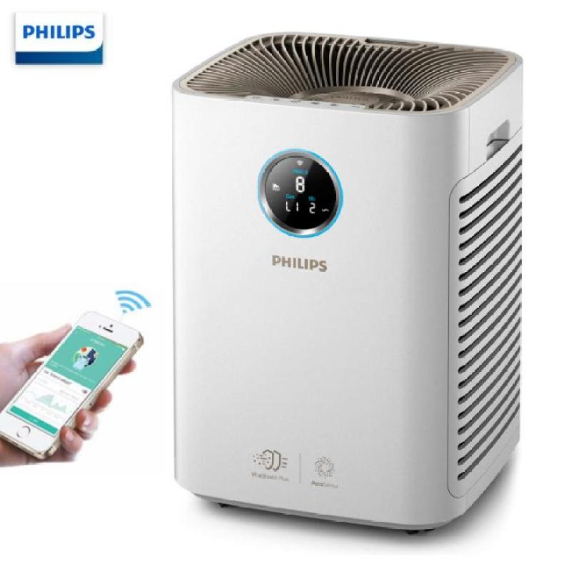 Máy lọc không khí kháng khuẩn trong gia đình thương hiệu Philips AC5668/00 tích hợp Wifi công suất 65W - Bảo hành chính hãng 12 tháng