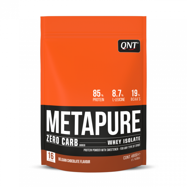 Isolate Whey Zero Carb Metapure Protein 480g Belgian Chocolate HSD Cuối tháng 1/2021/ Expired Date End of  January 2021 cao cấp