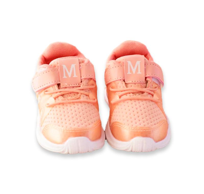 Giá bán Giày thể thao chữ M nhũ năng động cho bé trai và bé gái từ 1 – 6 tuổi – T4