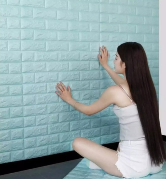 Bộ 10 tấm Xốp dán tường 3D loại dày 5 mm, kích thước 70×77 cm. Mặt sau có sẵn keo siêu dính dán được trên các vật liệu. Độ bền trên 10 năm. Nhiều màu lựa chọn