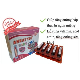 Siro Anratot - Bổ sung Vitamin,acidamin giúp tăng cường hấp thu, ăn ngon miệng (Hộp 20 ống) thumbnail