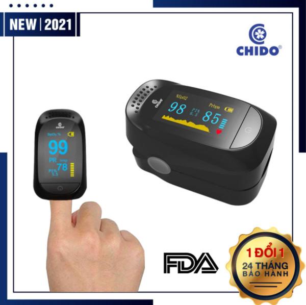 Máy Đo Nồng Độ Oxy SpO2 CHIDO - Máy Đo Nhịp Tim Oxy Trong Má..u -  Kẹp Ngón Tay Đo Độ Bão Hòa Oxy - Đo Nhịp Tim Hô Hấp - Kết Quả Nhanh - Chính Xác - Màn Hình LED Sắc Nét - Nhỏ Gọn - Tiện Lợi Dễ Sử Dụng bán chạy