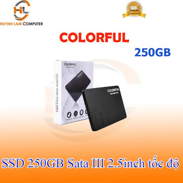 Bảng giá SSD 250gb Colorful SL500 tốc độ 540/490Mbs - NWH phân phối Phong Vũ