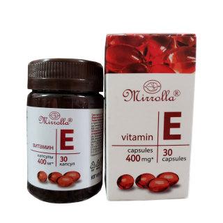Vitamin E Đỏ của Nga Mirrolla 400mg Giúp Trẻ Đẹp Da thumbnail