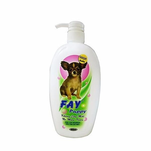 [HCM]Dầu tắm cho chó mèo con Fay Puppy 800ml