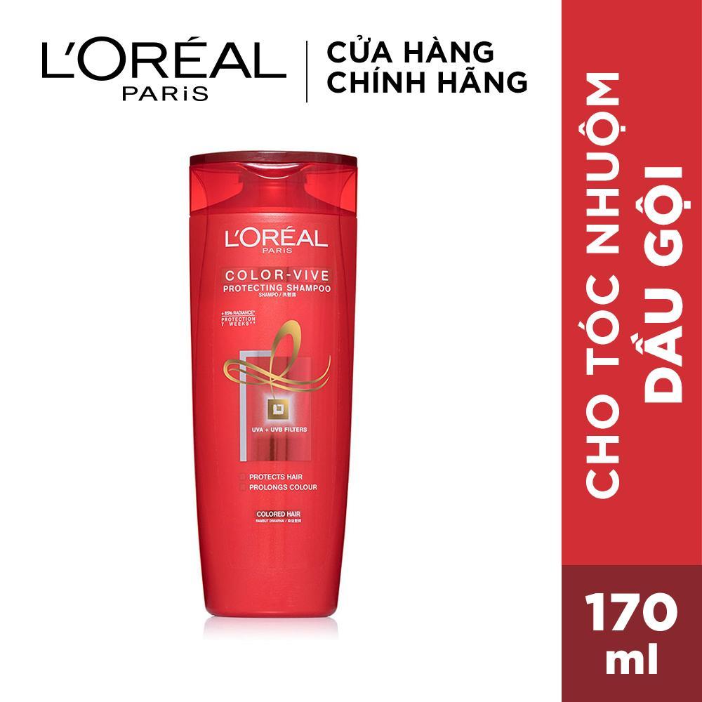 Dầu gội giữ màu tóc nhuộm Loreal Paris Elseve Color Vive Protecting Shampoo 170ml giá rẻ
