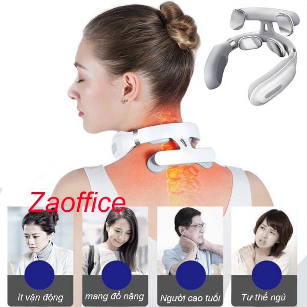 Máy massage cổ vai gáy 4 đầu cao cấp công nghệ Nhật Bản nhập khẩu