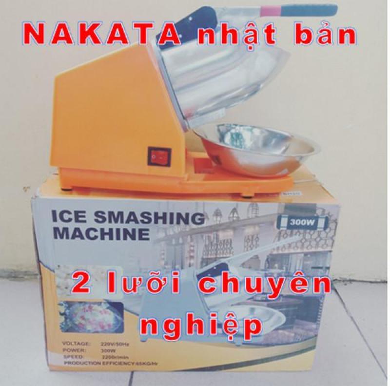 Máy bào đá Nakata 2 lưỡi  máy bào đá chuyên nghiệp