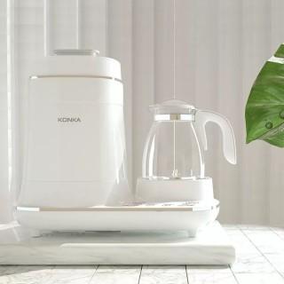 Máy hâm sữa cho bé Konka, Máy hâm sữa và tiệt trùng sấy khô, đun nước siêu tốc và hâm nước đa năng- Bảo hành 12 tháng và sửa chữa miễn phí thumbnail
