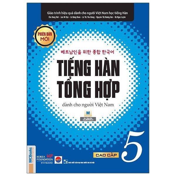 Mua Sách Giáo trình tiếng Hàn tổng hợp dành cho người Việt Nam cao cấp 5 bản 1 màu