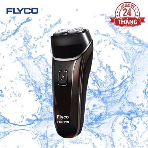 Máy cạo râu 2 lưỡi kép chống nước toàn thân FLYCO FS873VN