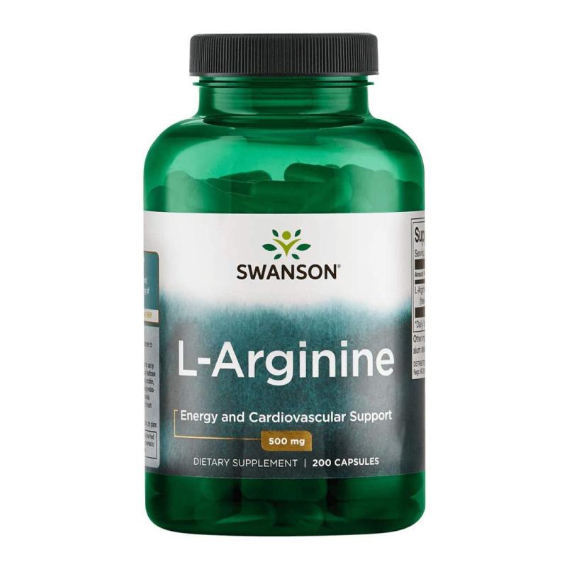 Viên uống L-Arginine hỗ trợ sức khỏe tim mạch cung cấp amino axit tạo protein cho cơ thể 200 viên