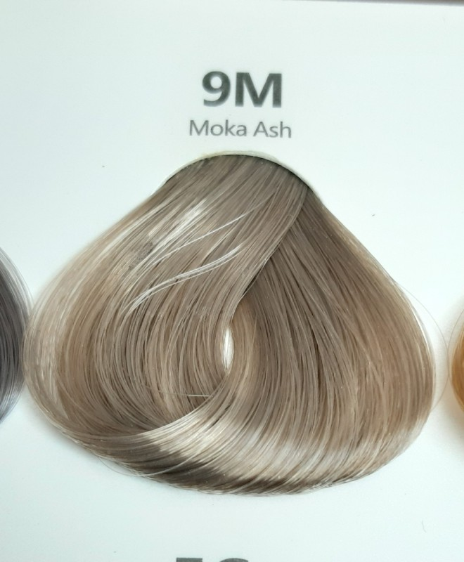 Thuốc nhuộm tóc màu khói sáng (kèm oxi và găng tay) giá rẻ