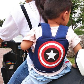 Địu cho bé đi xe máy, Đai địu xe máy, Đai đi xe máy đỡ cổ cho em bé, Chất Liệu Cao Cấp, Chắc Chắn, Bố Mẹ Yên Tâm trên mọi cung đường, An toàn thumbnail