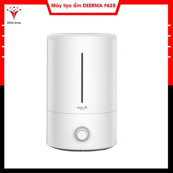 Máy tạo độ ẩm Deerma DEM-F628 (sử dụng được tinh dầu), dung tích 5L, độ ồn thấp sử dụng được ban đêm - Bảo hành 6 tháng