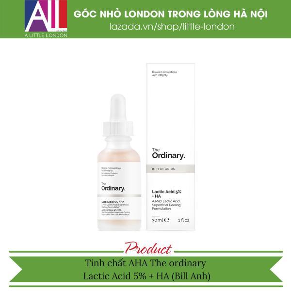Tinh chất AHA The Ordinary Lactic Acid 5% + HA 30ml (Bill Anh) nhập khẩu