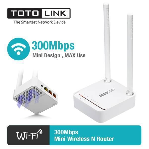Giá Bộ Phát Wifi TotoLink N200RE 300Mbps 2 râu