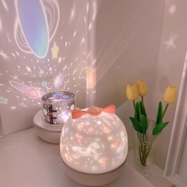 Bảng giá Đèn ngủ chiếu sao cổ tích, đại dương, xoay tự động đèn LED lãng mạn