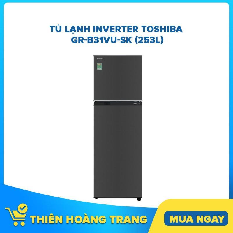 Tủ Lạnh Inverter Toshiba GR-B31VU-SK (253L)