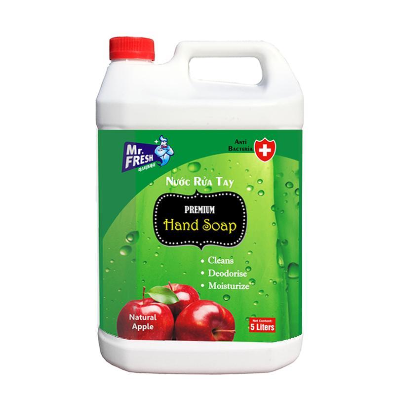 Nước rửa tay Premium Hand Soap Mr Fresh Hàn Quốc 5L Hương Táo