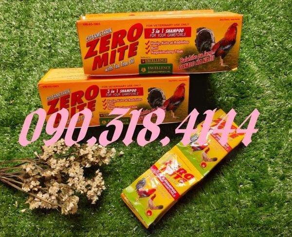Xà bông tắm gà Zero Mite (Hộp 24 gói)