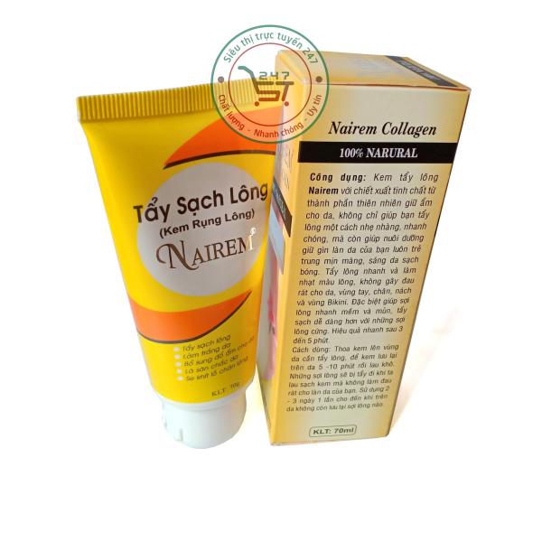 Kem rụng lông Nairem 70ml (Vàng)